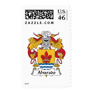 Escudo de la familia de Alvarado Sellos