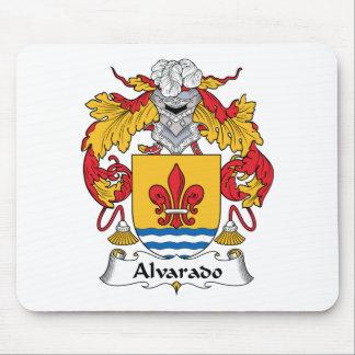 Escudo de la familia de Alvarado Tapete De Ratón