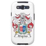 Escudo de la familia de Alvaraes Galaxy S3 Coberturas