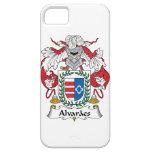 Escudo de la familia de Alvaraes iPhone 5 Case-Mate Carcasas