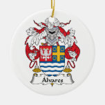 Escudo de la familia de Alvares Adornos