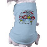Escudo de la familia de Alvares Camiseta De Perro