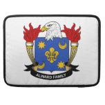 Escudo de la familia de Alward Fundas Macbook Pro