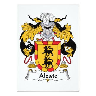 """Escudo de la familia de Alzate Invitación 5"""" X 7"""""""