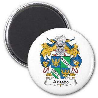 Escudo de la familia de Amado Imán Redondo 5 Cm