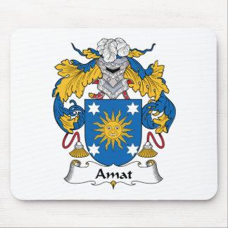 Escudo de la familia de Amat Alfombrillas De Ratón