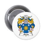 Escudo de la familia de Amat Pins