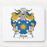 Escudo de la familia de Amat Tapetes De Raton