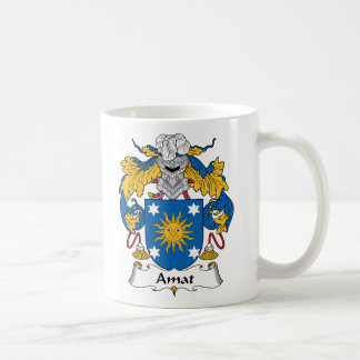 Escudo de la familia de Amat Taza