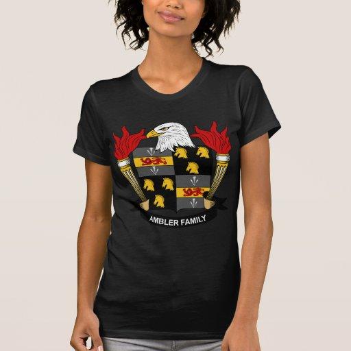 Escudo de la familia de Ambler Camisetas