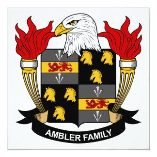 Escudo de la familia de Ambler Comunicados Personalizados
