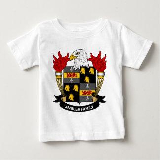 Escudo de la familia de Ambler Playera De Bebé