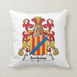 Escudo de la familia de Amboise Almohada