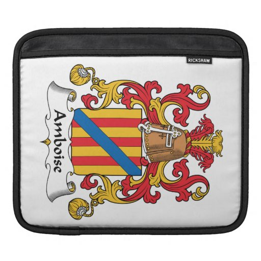 Escudo de la familia de Amboise Fundas Para iPads