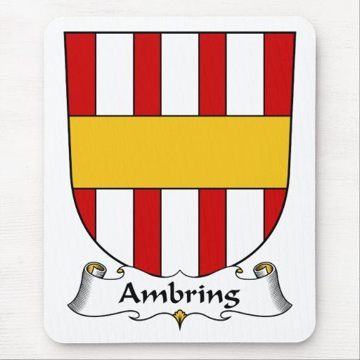 Escudo de la familia de Ambring Tapetes De Raton
