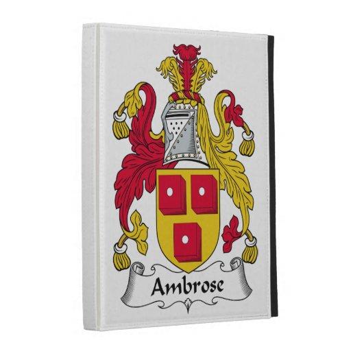 Escudo de la familia de Ambrose