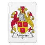 Escudo de la familia de Ambrose iPad Mini Protectores