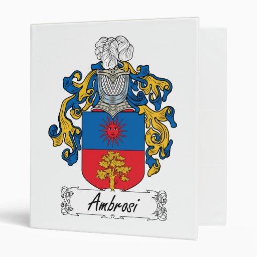 Escudo de la familia de Ambrosi