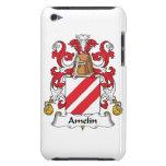 Escudo de la familia de Amelin iPod Touch Cárcasas