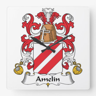 Escudo de la familia de Amelin Reloj