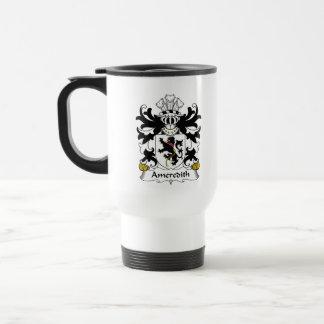 Escudo de la familia de Ameredith Taza De Café