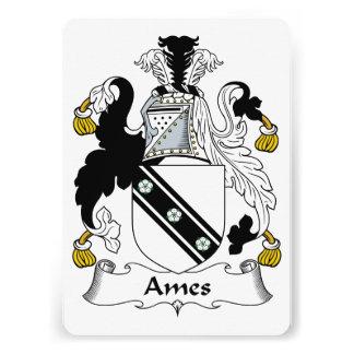 Escudo de la familia de Ames Comunicado Personal