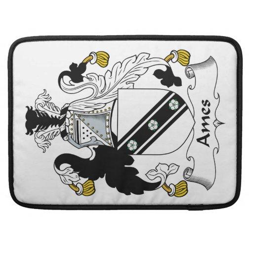Escudo de la familia de Ames Funda Macbook Pro