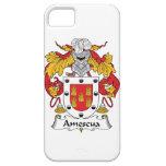 Escudo de la familia de Amescua iPhone 5 Protectores