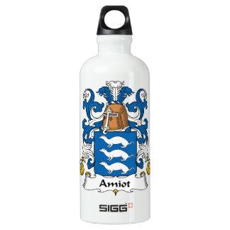 Escudo de la familia de Amiot Botella De Agua