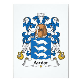 Escudo de la familia de Amiot Comunicados