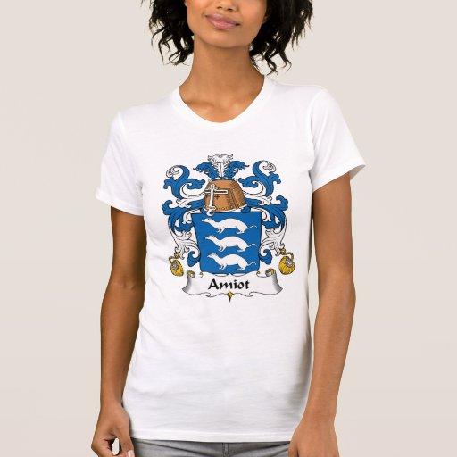 Escudo de la familia de Amiot Tee Shirts