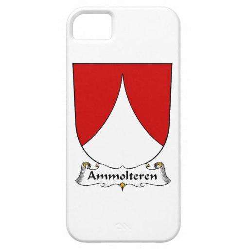 Escudo de la familia de Ammolteren iPhone 5 Protectores