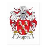 Escudo de la familia de Amorim Postal