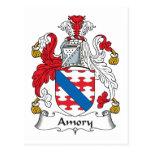 Escudo de la familia de Amory Postal