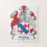 Escudo de la familia de Amory Rompecabezas