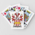 Escudo de la familia de Ampringen Baraja Cartas De Poker
