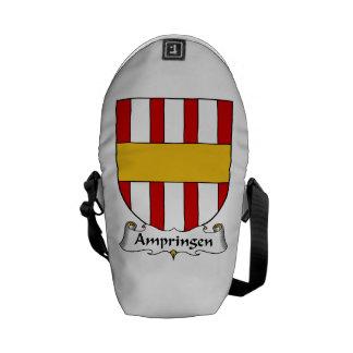 Escudo de la familia de Ampringen Bolsa Messenger