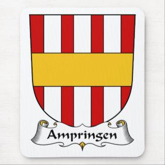 Escudo de la familia de Ampringen Tapete De Ratones