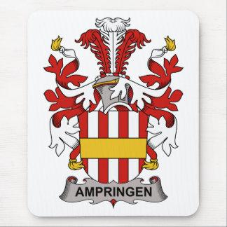 Escudo de la familia de Ampringen Tapetes De Raton