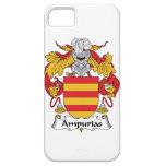 Escudo de la familia de Ampurias iPhone 5 Case-Mate Carcasas