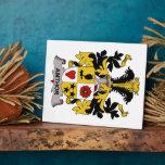 Escudo de la familia de Amthor Placas Para Mostrar