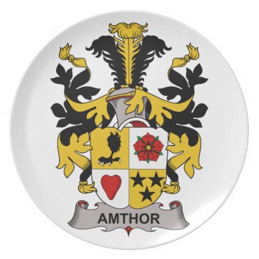 Escudo de la familia de Amthor Plato