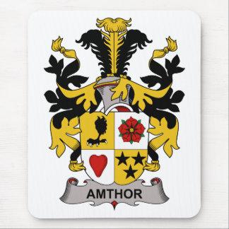 Escudo de la familia de Amthor Alfombrillas De Ratones