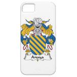 Escudo de la familia de Anaya iPhone 5 Fundas