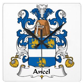 Escudo de la familia de Ancel Relojes