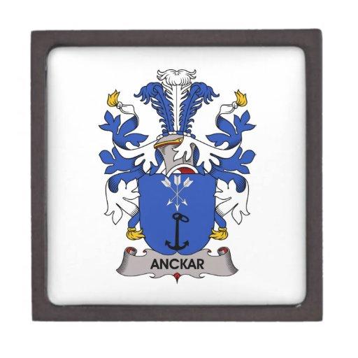 Escudo de la familia de Anckar Caja De Joyas De Calidad
