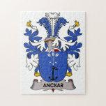 Escudo de la familia de Anckar Puzzles
