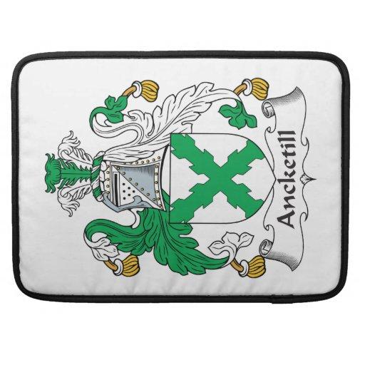 Escudo de la familia de Ancketill Funda Macbook Pro