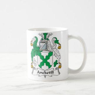 Escudo de la familia de Ancketill Taza Clásica