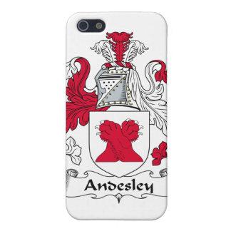 Escudo de la familia de Andesley iPhone 5 Fundas